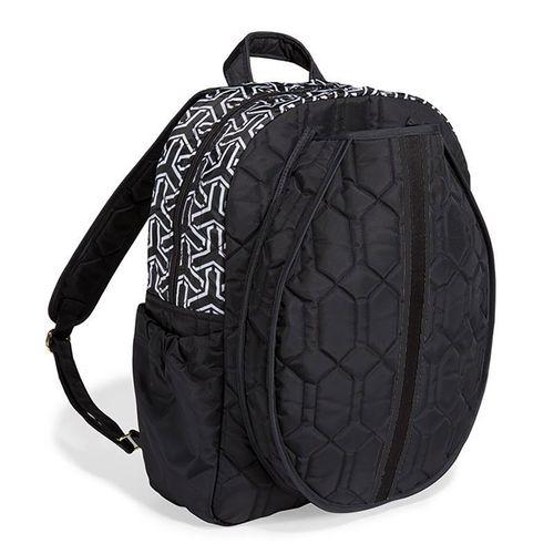 Cinda B Jet Set Black Tennis Backpack