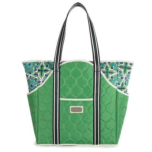 Cinda B Verde Bonita Tennis Court Bag