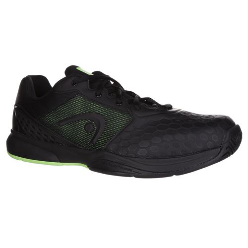 Head Revolt Team 3.0 Mens Tennis Shoe - Black/Green