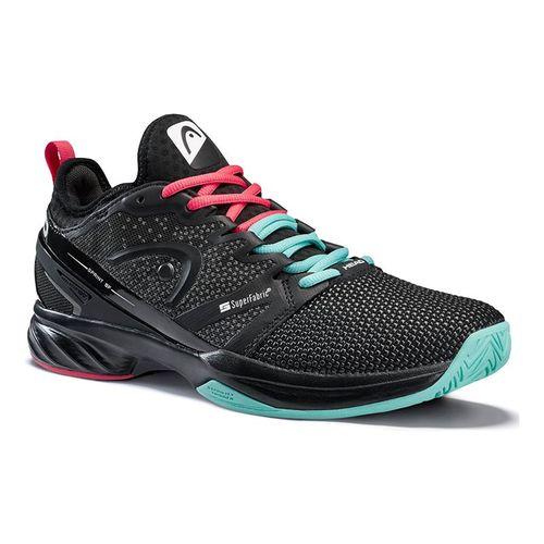 Head Sprint Super Fabric Mens Tennis Shoe - Black/Teal