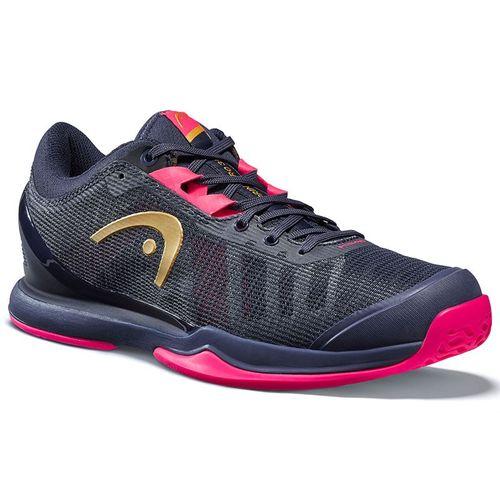 Head Sprint Pro 3.0 Womens Tennis Shoe Dark Blue/Pink 274000