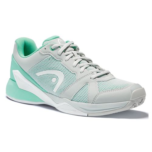 Head Revolt Evo Womens Tennis Shoe Grey/Teal 274511