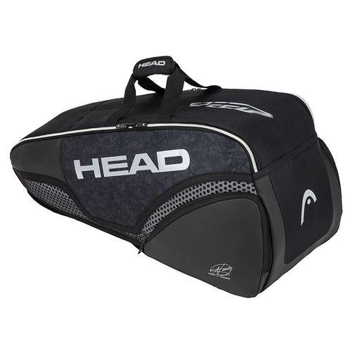Head Djokovic 6 Pack Combi Tennis Bag