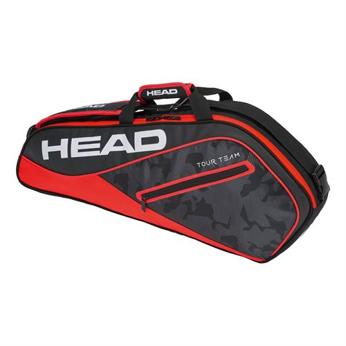 Head Tour Team 3 Pack Pro Tennis Bag - Black/Red