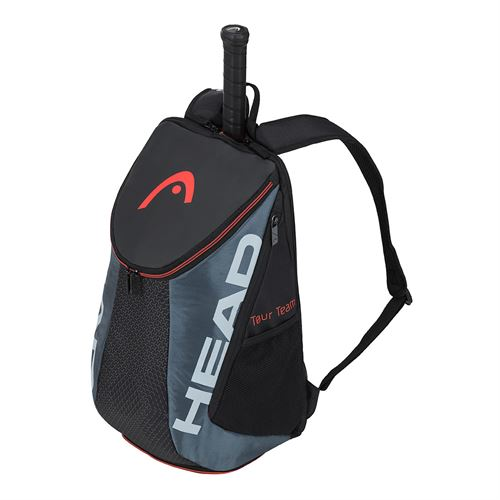Head Tour Team Tennis Backpack - Black/Grey