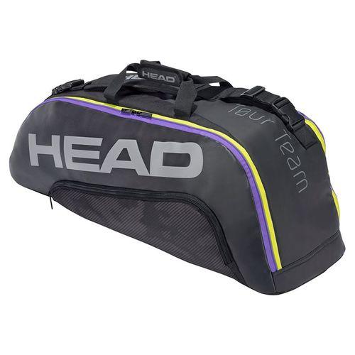 Head Tour Team 6 Racquet Combi Tennis Bag - Black/Purple