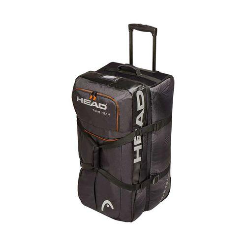 Head Tour Team Travel Tennis Bag - Black Silver  e14a7d8e0e4d0