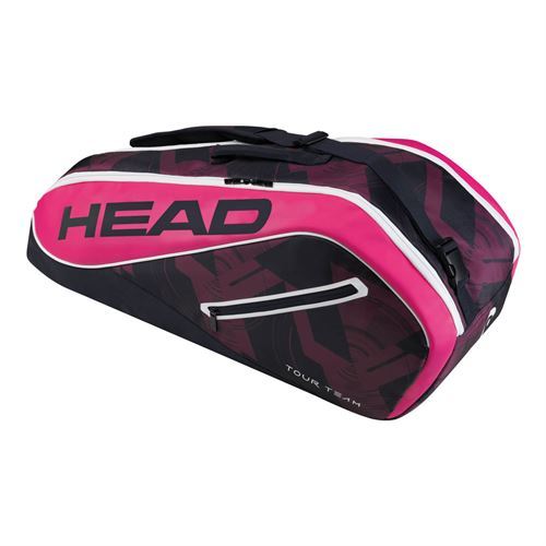Head Tour Team 6 Pack Combi Tennis Bag - Navy/Pink
