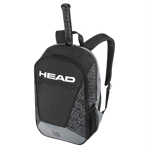 Head Core Tennis Backpack - Black/Grey