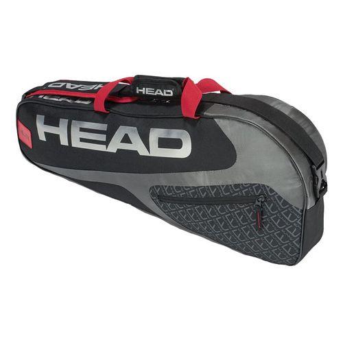 Head Elite 3 Pack Pro Tennis Bag - Black/Red