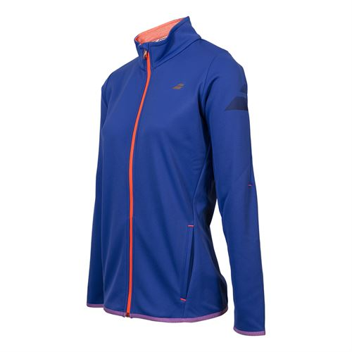 Babolat Performance Jacket - Blue Spiral