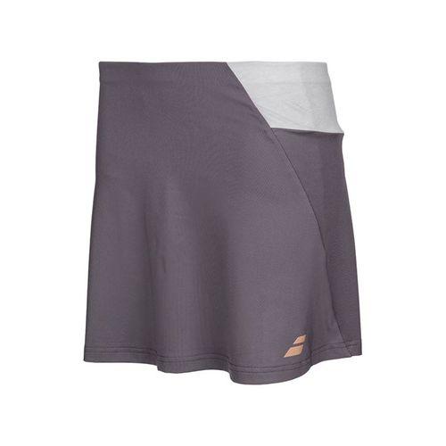 Babolat Perf Long 14 Inch Skirt - Dark Grey