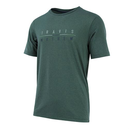 Travis Mathew LOP Tee - Agave Green/Blue Nights
