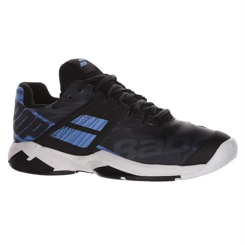 Babolat Propulse Fury All Court Mens Tennis Shoe Black/Parisian Blue 30F19208 2011