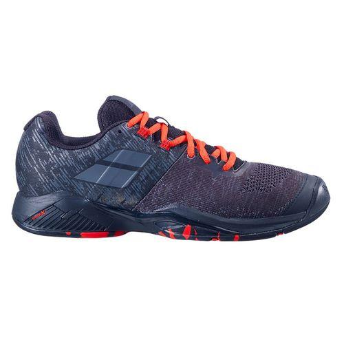 Babolat Propulse Blast All Court Mens Tennis Shoe Black/Tomato Red 30F20442 2019