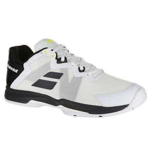 innovative design aef60 0eb58 Babolat SFX 3 All Court Mens Tennis Shoe - Black Silver