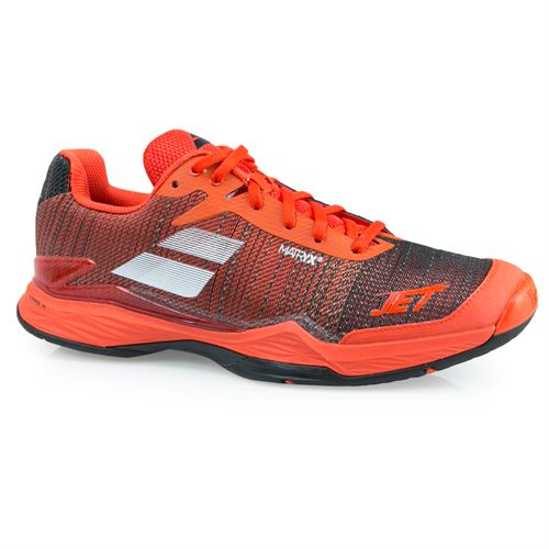 Babolat Jet Mach II Mens Tennis Shoe - Orange.Com/Black