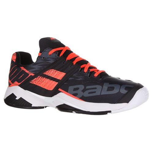 Babolat Propulse Fury All Court Mens Tennis Shoe - Black/Fluo Strike