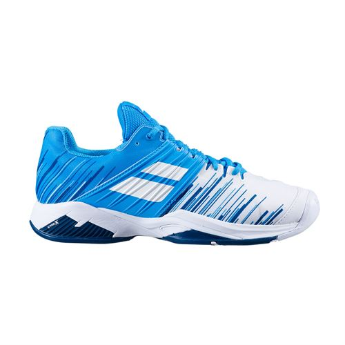 Babolat Propulse Fury All Court Mens Tennis Shoe White/Blue Aster 30S20208 1030