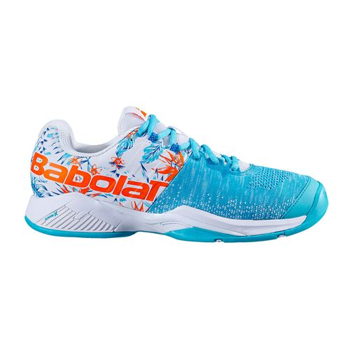 Babolat Propulse Blast All Court Mens Tennis Shoe White/Flower 30S20442 1036