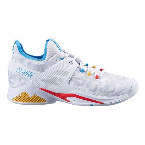 Babolat Propulse Rage All Court Mens Tennis Shoe White/Blue 30S21769 1010