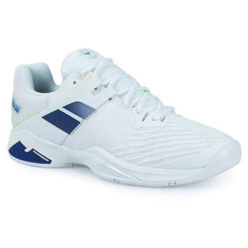 Babolat Propulse Fury Wimbledon Mens Tennis Shoe - White Navy f926f39ce94