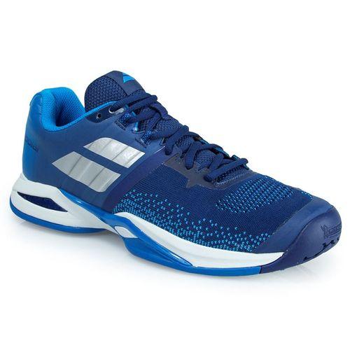 Babolat Propulse Blast All Court Mens Tennis Shoe - Estate Blue/Diva Blue