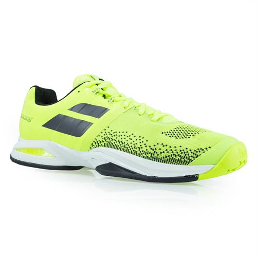 Babolat Propulse Blast All Court Mens Tennis Shoe - Fluo Yellow/Black