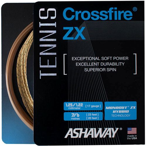 Ashaway Crossfire ZX 17G Tennis String