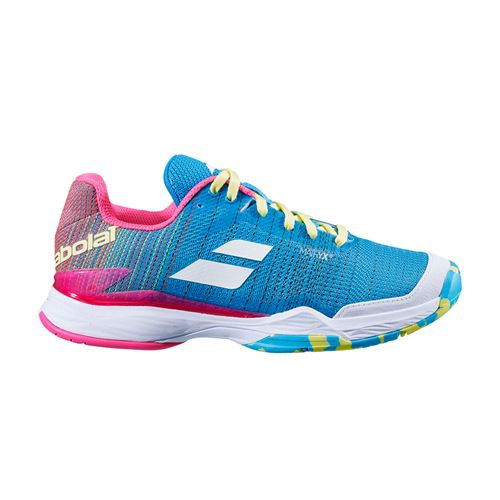 Babolat Jet Mach II All Court Womens Tennis Shoe Capri Breeze/Pink 31S20630 4066