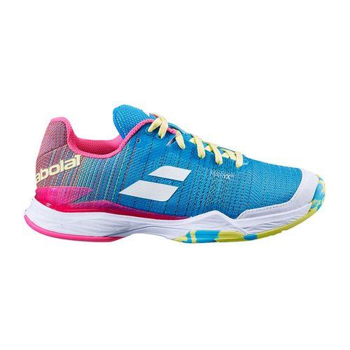 Babolat Jet Mach II Clay Womens Tennis Shoe Capri Breeze/Pink 31S20685 4066