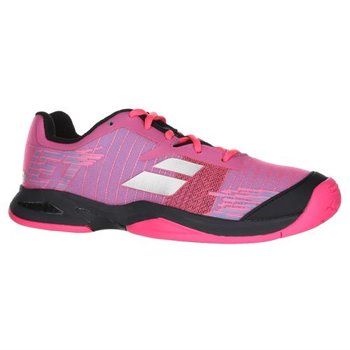 Babolat Jet All Court Junior Tennis Shoe - Pink/Black