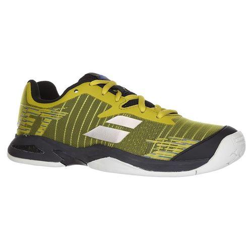 Babolat Jet All Court Junior Tennis Shoe - Dark Yellow/Black