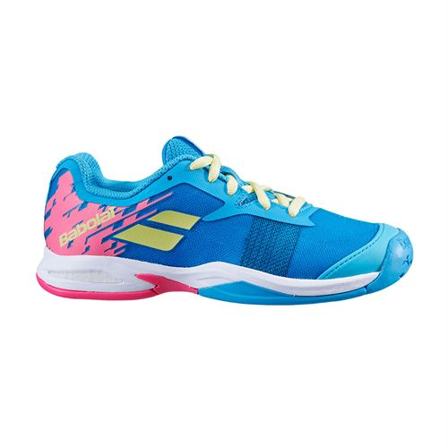 Babolat Junior Jet All Court Tennis Shoe Capri Breeze/Pink 32S20647 4066