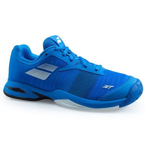 Babolat Jet All Court Junior Tennis Shoe - Diva Blue/White