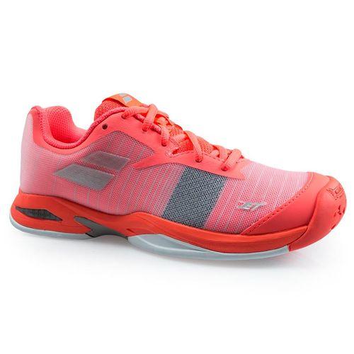 Babolat Jet All Court Junior Tennis Shoe - Fandango/Fluo Pink