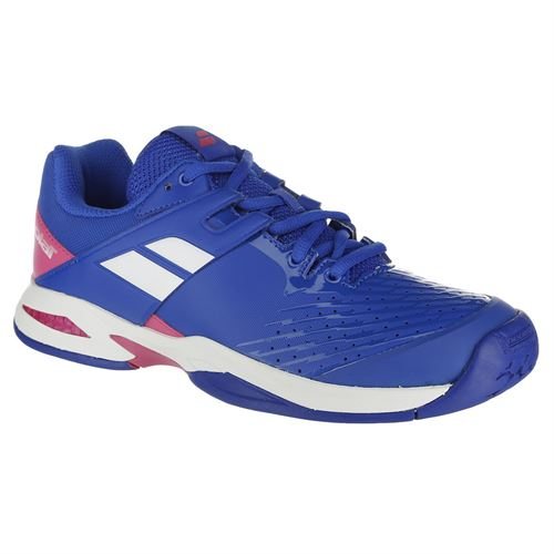 Babolat Propulse Fury All Court Junior Tennis Shoe - Blue/Pink