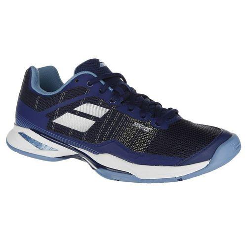 Babolat Jet Mach I Womens Tennis Shoe - Estate Blue/Silver 39S18651 4003
