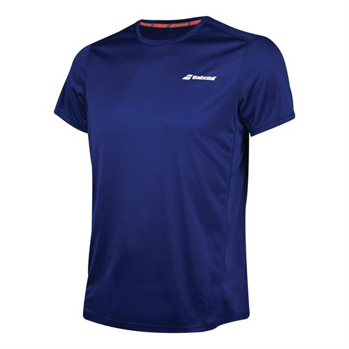 Babolat Boys Core Flag Club Tee - Estate Blue