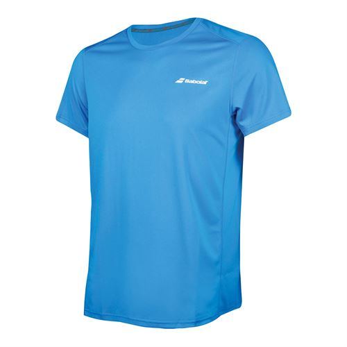 Babolat Core Flag Club Tee Mens Diva Blue 3MS18011 4013