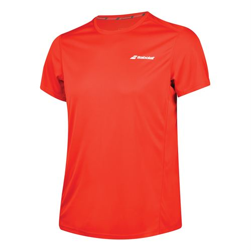 b1fc48095f4c Babolat Boys Core Flag Club Crew - Fiery Red