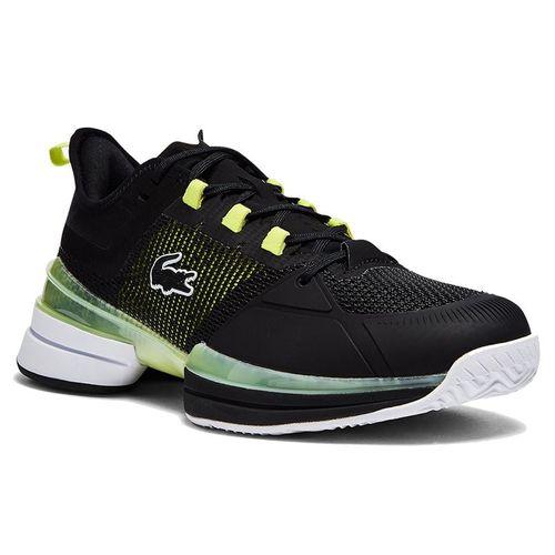 Lacoste AG LT 21 Ultra Mens Tennis Shoe Black/Yellow 41SMA0092 3E6