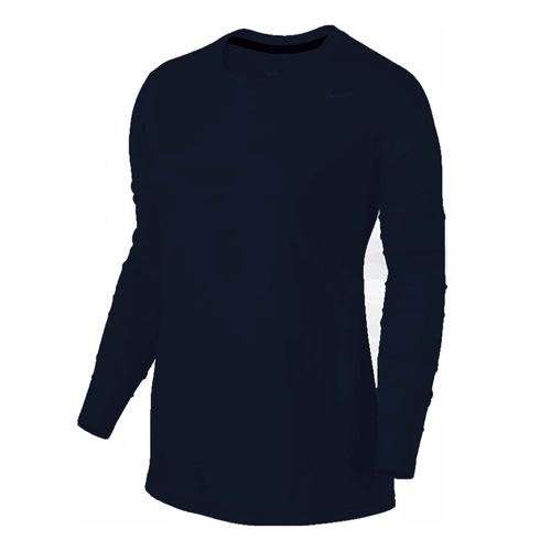 Nike Team Legend Long Sleeve - Navy/Cool Grey
