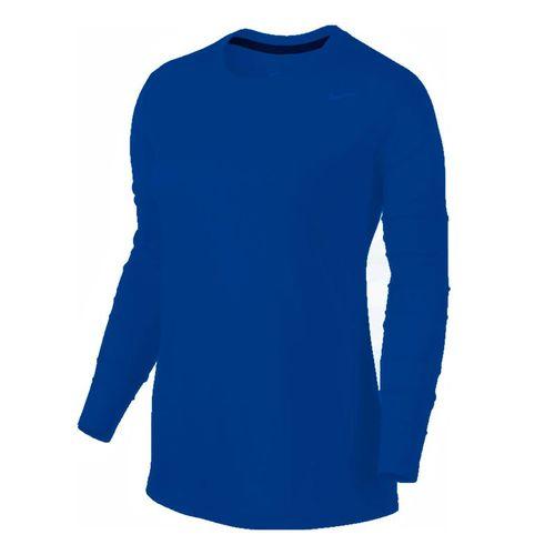 Nike Team Legend Long Sleeve - Royal/Cool Grey