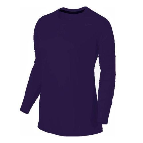 fd129d76 Nike Team Long Sleeve, 453182-545 | Women's Tennis Apparel