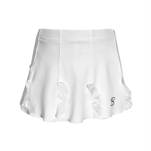 Sofibella Girls Miami Cascade Skirt - White