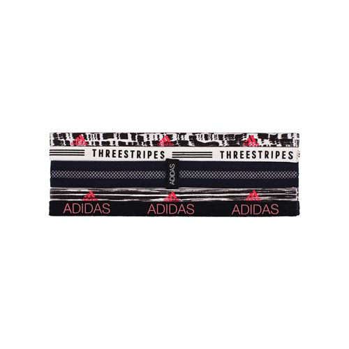 adidas Creator Plus Hairband 5pk - Black/White/Red