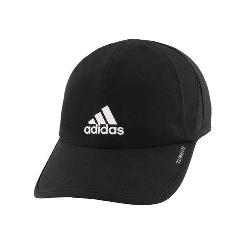 adidas Mens SuperLite Hat - Black/White