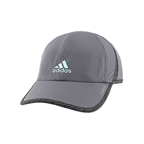 3aaaa931cdc adidas Womens SuperLite Hat - Onix Grey Fresh Green