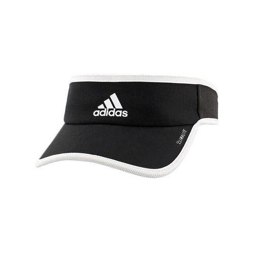 adidas Womens SuperLite Visor - Black/White